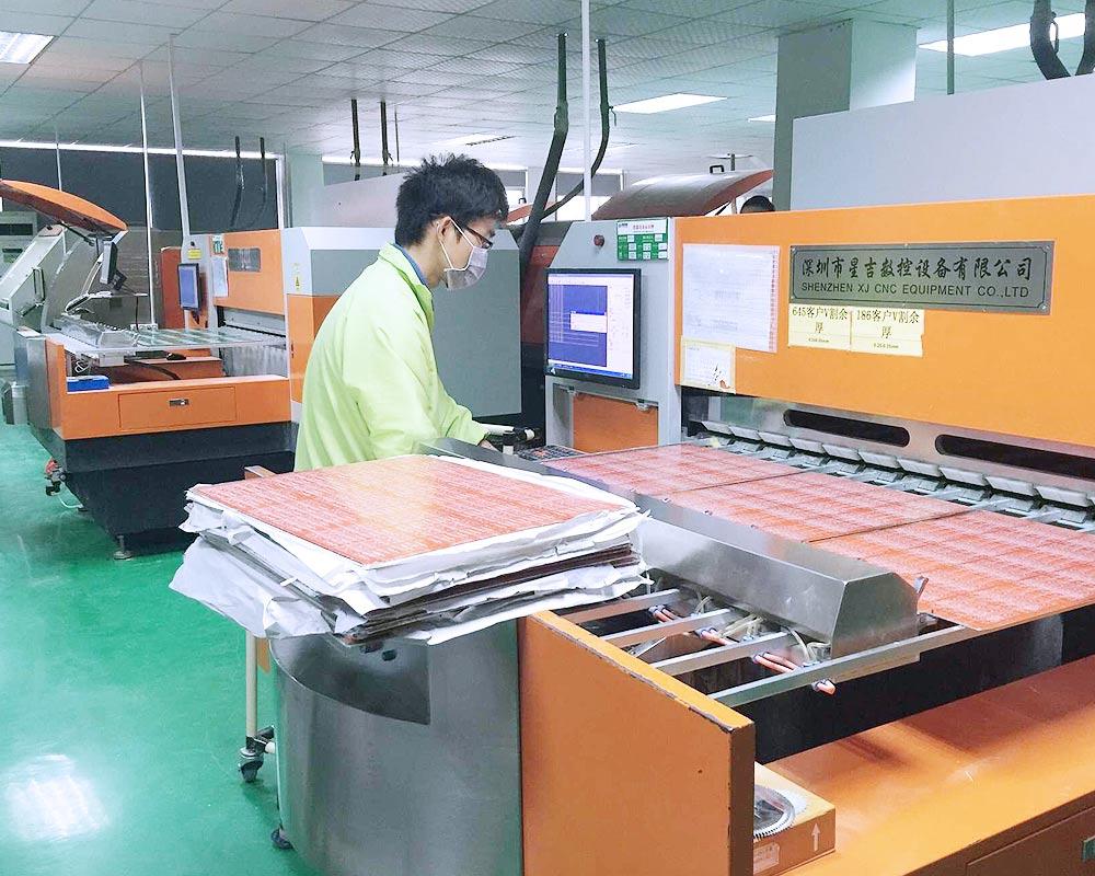 v cut machine